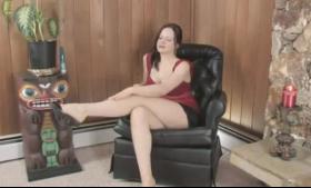 Brunette tittycunning babe gets her pussy ass pumped