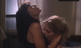 Kari Hendrix and Sara St. James are taking turns sucking one hard dick, on the couch