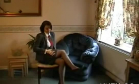 Classy blonde woman in black stockings, Jenaveve Jolie likes to get two massive cocks in her pussy