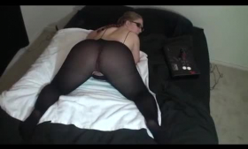 Hot amateur in wild sex action