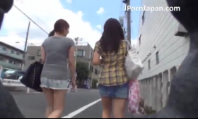 Naughty Japanese schoolgirl is about to get fucked very hard, by an elderly man she is in love with