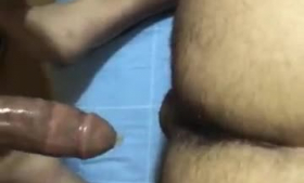 Horny professional femdoms spoil his meat