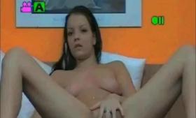 Brunette amateurTeenDelorean exposing tits