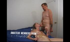 Sexy secretary fucked by a black cock
