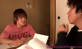 Adorable Japanese teen, Asa got both of her holes filled up with a rock hard dick