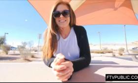 Blonde milf in erotic stockings, Nadia Styles likes to feel dick inside her pussy