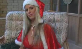 Big boobs Santa - Adele Stephens naked.