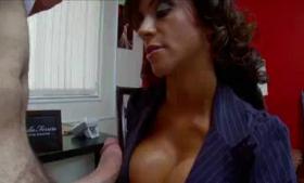 Ariella Ferrera and Valentina Nappi eating pussy in the night club