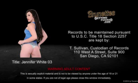 Jennifer White is always in the mood for a good fuck session with her roommate