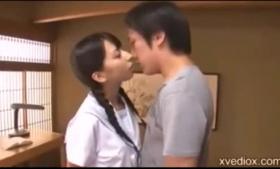 Japanese Girl 3D Sex On TV