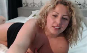 Lovely blonde chicks fingering pussies on cam