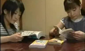 Slutty Japanese student is satisfying her mind better than any other woman, just for fun
