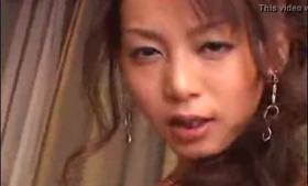 Sexy Jap sex masseuse makes her clients orgasms