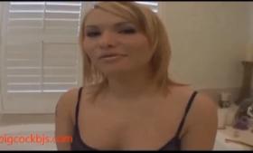 Cute whore in porn casting
