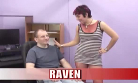 Raven Bay likes to suck cock after fucking her partner and to call him to come back