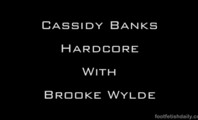 Brooke Wylde has got herself a guys ass and hard pounding her wet pussy with thinking