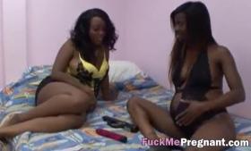 Pregnant horny mature slut
