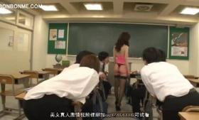 A horny teacher taking a cock deep