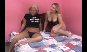 Video of Wild Lesbian,Karla Kush and Marry Rose teasing you