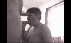 Tattooed cock- sucker Kiara Mia get drilled in a threesome